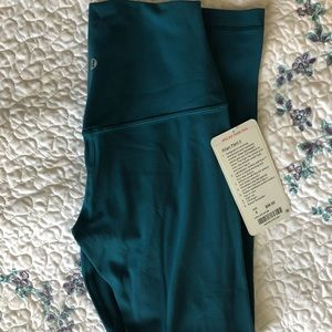 "Lululemon align dark uniform blue size 4 25"""